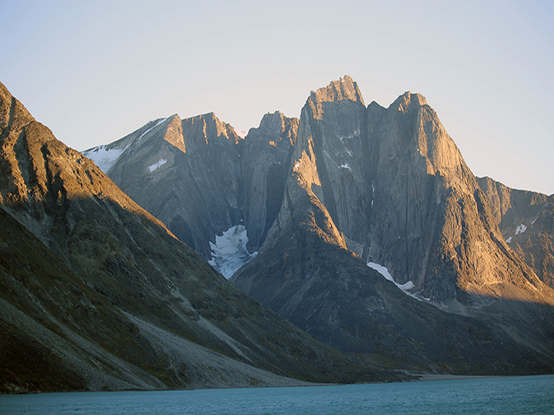 mountain in Greenland